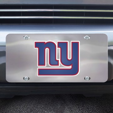 Picture of New York Giants Diecast License Plate