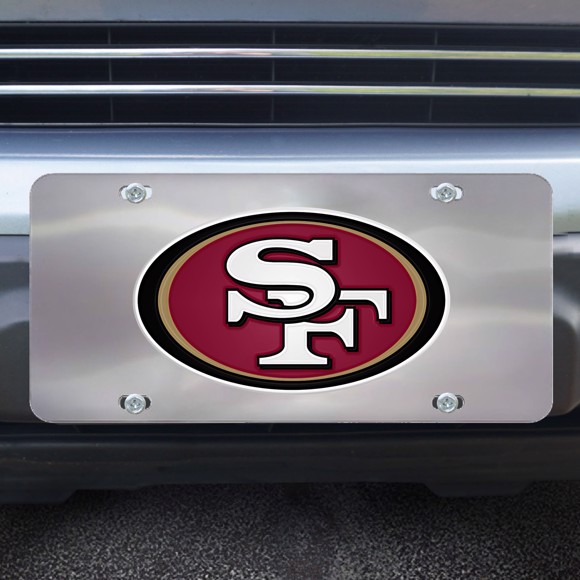 Picture of San Francisco 49ers Diecast License Plate