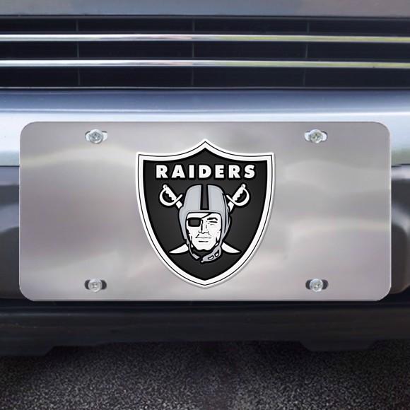 Picture of Las Vegas Raiders Diecast License Plate