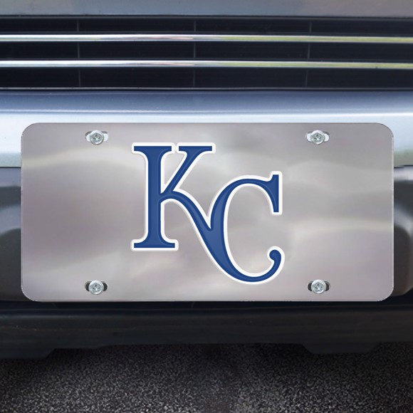 Picture of Kansas City Royals Diecast License Plate