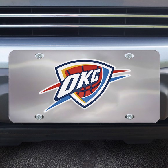 Picture of Oklahoma City Thunder Diecast License Plate