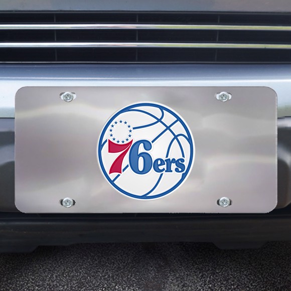 Picture of Philadelphia 76ers Diecast License Plate