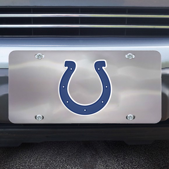 Picture of Indianapolis Colts Diecast License Plate