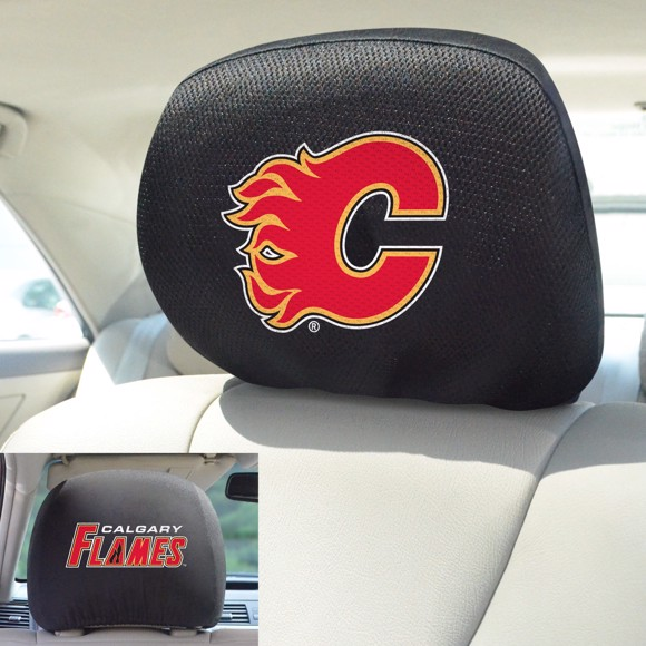 Picture of Calgary Flames Headrest Cover
