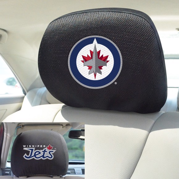 Picture of Winnipeg Jets Headrest Cover