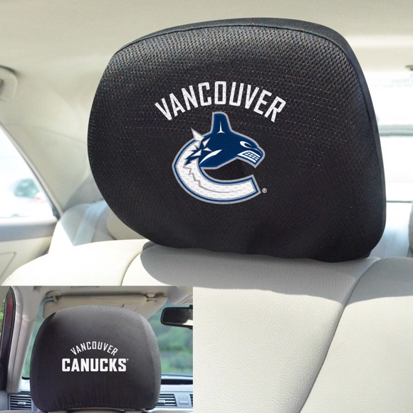 Picture of Vancouver Canucks Headrest Cover