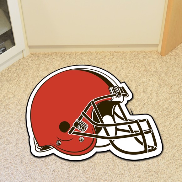 Picture of Cleveland Browns Mascot Mat - Helmet