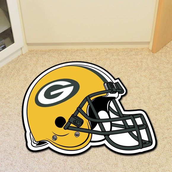 Picture of Green Bay Packers Mascot Mat - Helmet