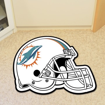 Picture of Miami Dolphins Mascot Mat - Helmet