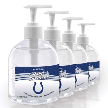 Picture of Indianapolis Colts 16 oz. Hand Sanitizer