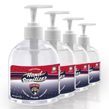 Picture of Florida Panthers 16 oz. Hand Sanitizer