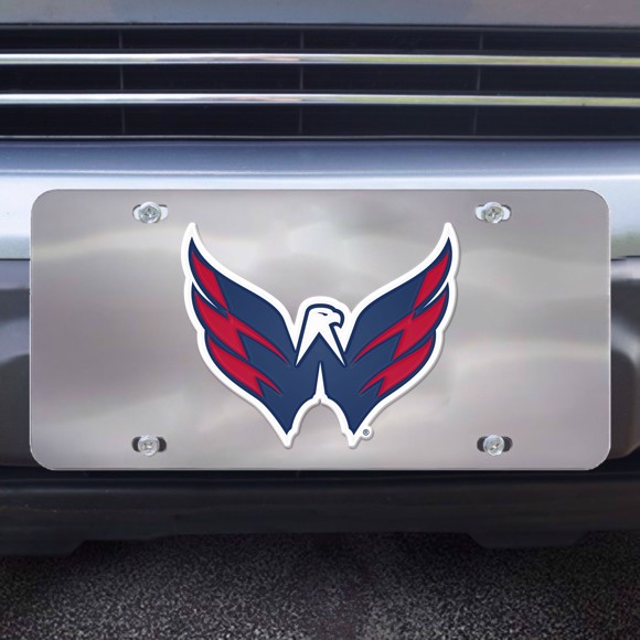 Picture of Washington Capitals Diecast License Plate