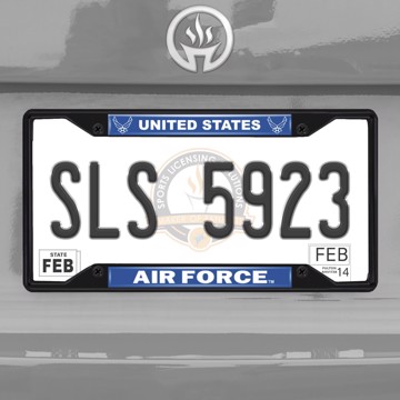 Picture of U.S. Air Force License Plate Frame - Black