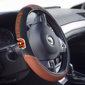 Picture of Cincinnati Bengals Sports Grip Steering Wheel Cover