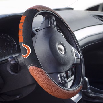 Picture of Chicago Bears Sports Grip Steering Wheel Cover