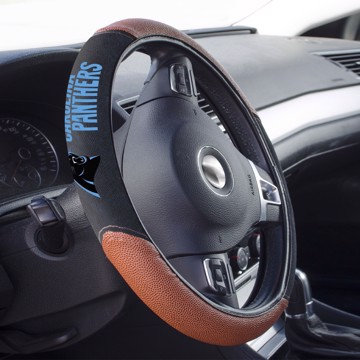 Picture of Carolina Panthers Sports Grip Steering Wheel Cover