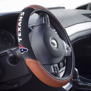 Picture of Houston Texans Sports Grip Steering Wheel Cover