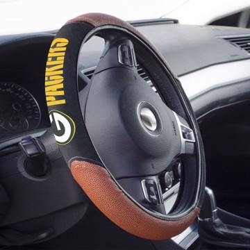 Picture of Green Bay Packers Sports Grip Steering Wheel Cover
