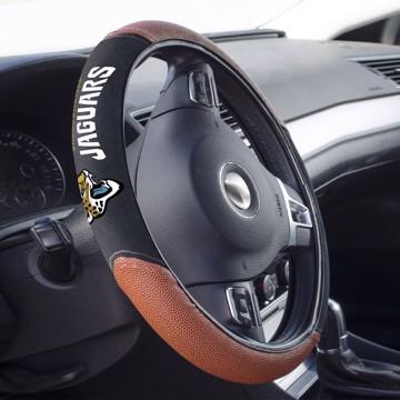 Picture of Jacksonville Jaguars Sports Grip Steering Wheel Cover