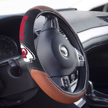 Picture of Kansas City Chiefs Sports Grip Steering Wheel Cover