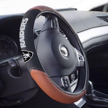 Picture of Las Vegas Raiders Sports Grip Steering Wheel Cover