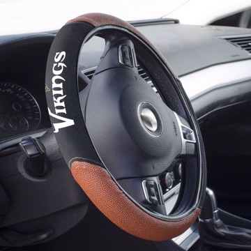 Picture of Minnesota Vikings Sports Grip Steering Wheel Cover