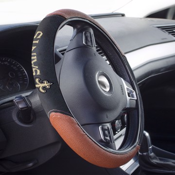 Picture of New Orleans Saints Sports Grip Steering Wheel Cover