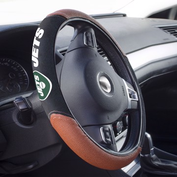Picture of New York Jets Sports Grip Steering Wheel Cover