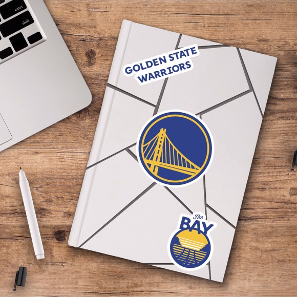 Picture of Golden State Warriors Decal 3-pk