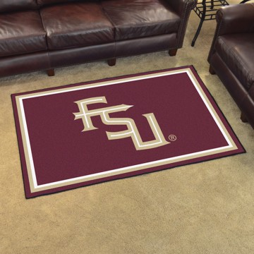Picture of Florida State 4'x6' Plush Rug