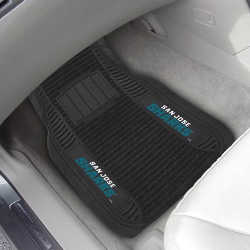 Picture of NHL - San Jose Sharks Deluxe Car Mat Set