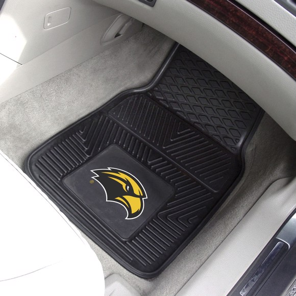 Picture of University of Southern Mississippi 2-pc Vinyl Car Mat Set