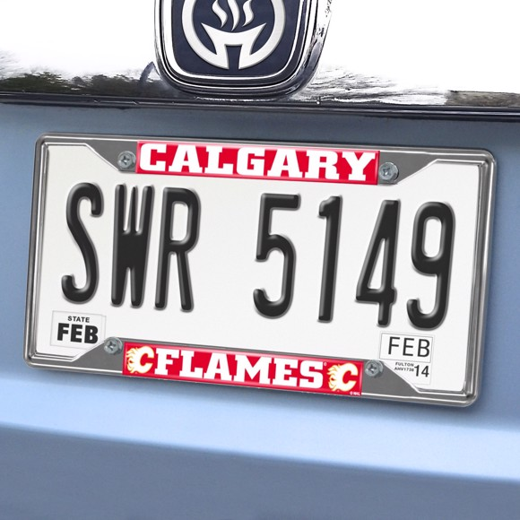 Picture of Calgary Flames License Plate Frame