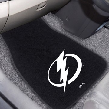 Picture of NHL - Tampa Bay Lightning 2-pc Embroidered Car Mat Set
