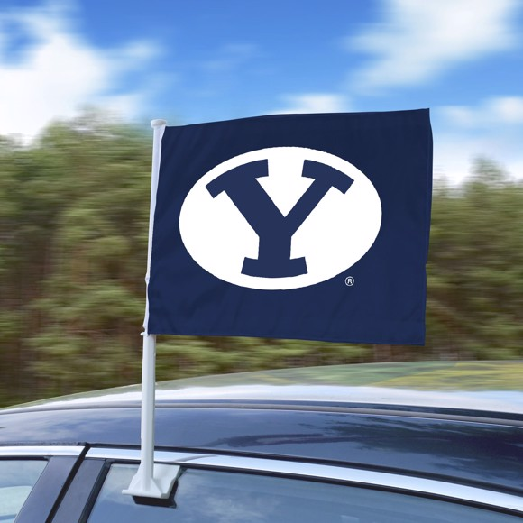 Picture of Brigham Young University Car Flag