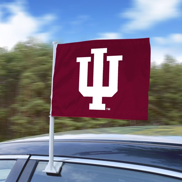 Picture of Indiana University Car Flag