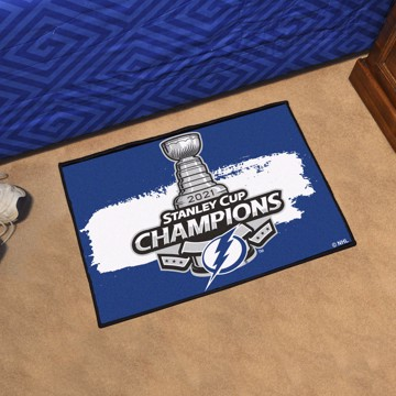 Picture of NHL - Tampa Bay Lightning 2021 Stanley Cup Champions Starter Mat