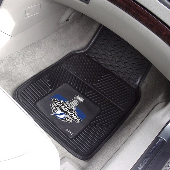 Picture of NHL - Tampa Bay Lightning 2021 Stanley Cup Champions Vinyl Car Mat Set