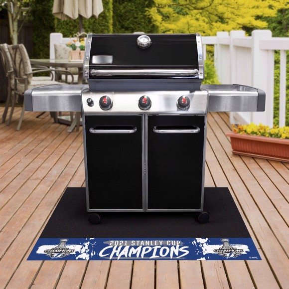 Picture of NHL - Tampa Bay Lightning 2021 Stanley Cup Champions Grill Mat