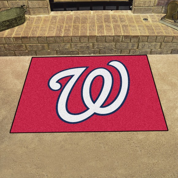 Picture of Washington Nationals All-Star Mat Alternate Logo