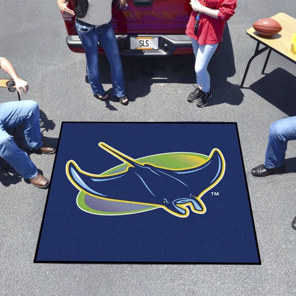 Picture of Tampa Bay Rays Tailgater Mat Alternate Logo