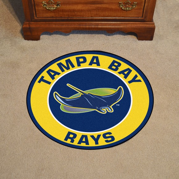 Picture of Tampa Bay Rays Roundel Mat Alternate Logo