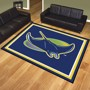 Picture of Tampa Bay Rays 8x10 Rug Alternate Logo