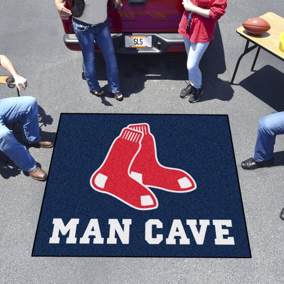 Picture of Boston Red Sox Man Cave Tailgater Alternate Logo