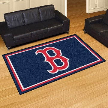 Picture of Boston Red Sox 4x6 Rug Alternate Logo