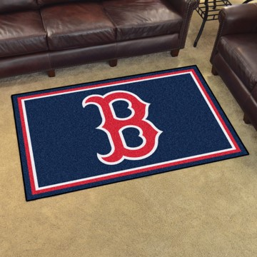 Picture of Boston Red Sox 5x8 Rug Alternate Logo