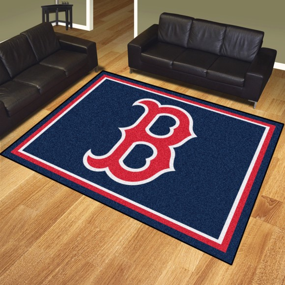 Picture of Boston Red Sox 8x10 Rug Alternate Logo