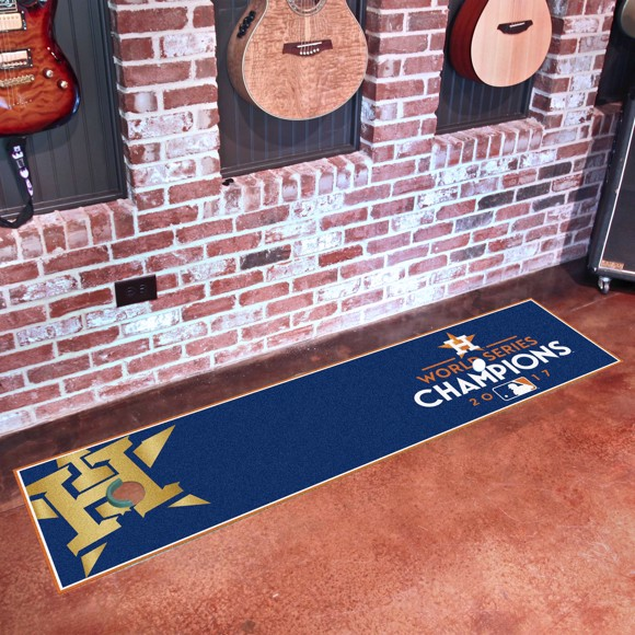 Picture of MLB - Houston Astros 2017 World Series Champions Putting Green Mat