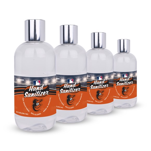 Picture of Baltimore Orioles 8 oz. Hand Sanitizer