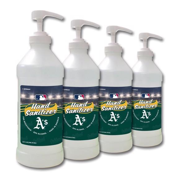 Picture of Oakland Athletics 32 oz. Hand Sanitizer